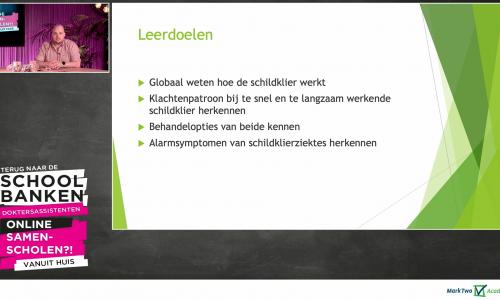 Geaccrediteerde e-learning met interactie MarkTwo - Webinary