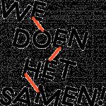 We doen het samen logo